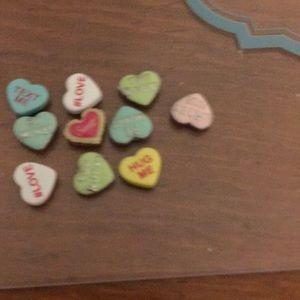 Origami owl Valentine's Day charms
